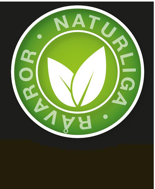 Endast naturliga råvaror